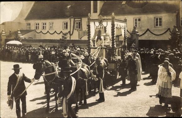 Foto Ak Altötting Oberbayern, Seligsprechungsfeier zu Ehren d. seligen Bruders Konrad v. Altötting