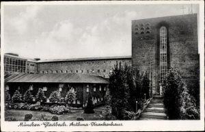 Ak Mönchengladbach Nordrhein Westfalen, Asthmakrankenhaus, Außenansicht