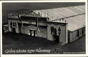 Ak Nürnberg in Mittelfranken Bayern, Grüne Woche 1950, Festhalle, Festwirt Rudi Scheuer, Tucher Bräu