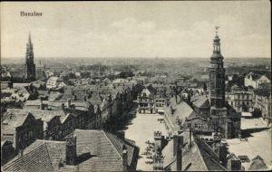Ak Bolesławiec Bunzlau Schlesien, Markt, Rathaus, Kirchturm