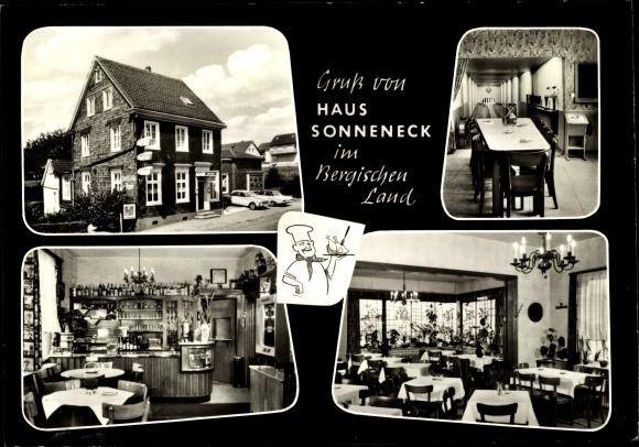 Ak Solingen in Nordrhein Westfalen, Haus Sonneneck, Inh. Willibald Wittner, Pfaffenberger Weg 112