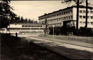 Ak Elbingerode Oberharz am Brocken, Diakonissenmutterhaus Neuvandsburg, Straßenansicht