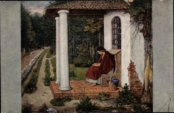 Künstler Ak Schwind, Moritz von, Die Waldkapelle, Serie 10/155