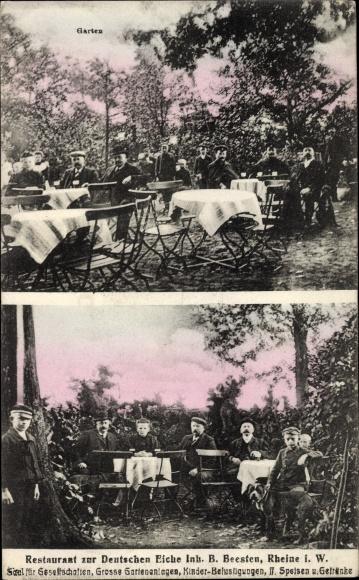Beesten V.1929 Gastwirtschaft Franz Beckmann Und Das