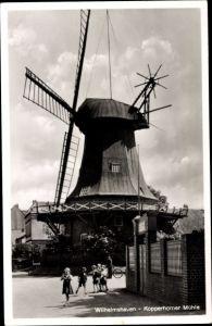 Ak Wilhelmshaven in Niedersachsen, Kopperhorner Mühle, Windmühle