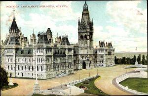 Ak Ottawa Ontario Kanada, Dominion Parliament Buildings