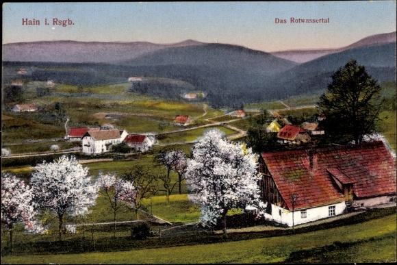 2096432 Ehemalige Dt. Gebiete Sammeln & Seltenes Ak Przesieka Hain Podgórzyn Giersdorf Riesengebirge Schlesien,..
