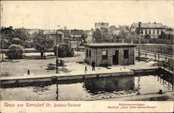 Wernsdorf ist ein Ort in Deutsches Reich - Ehemalige Ostgebiete
