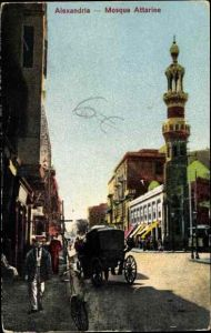 Ak Alexandria Ägypten, Mosque Attarine