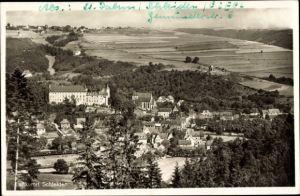 Ak Schleiden in der Eifel in Nordrhein Westfalen, Panorama vom Ort