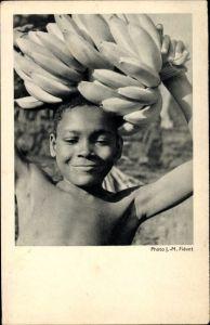 Ak Côte occidentale d'Afrique, Dans la Bananeraie, Afrikaner, Bananen