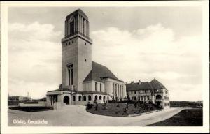 Ak Görlitz in der Lausitz, Kreuzkirche, Außenansicht
