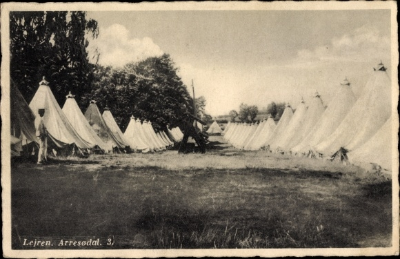 Ak Lejre Dänemark, Arresodal, 3., Feldlager