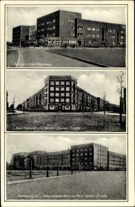 Ak Hamburg, Rungestraße, Ecke Elligesweg, Meister Franke Straße, Ecke Langenfort, Otto Speck Straße