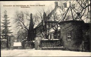 Ak Schönhausen Stendal Sachen Anhalt, Geburtshaus des Fürsten Bismarck