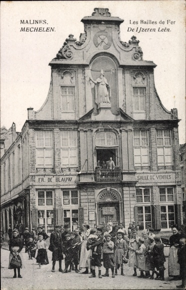 Ak Mechelen Malines Flandern Antwerpen, Les Bailles de Fer