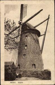 Ak Moers am Niederrhein, Mühle, Windmühle