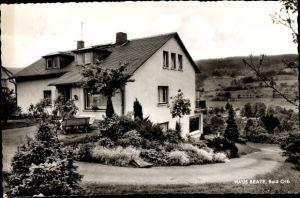 Ak Bad Orb in Hessen, Haus Beate, Außenansicht, Würzburger Straße 67, M. und E. Klug