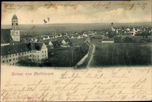 Ak Maihingen in Schwaben, Panorama vom Ort