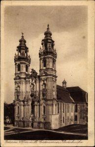 Ak Krzeszów Kamienna Góra Grüssau Schlesien, Cistercienser Klosterkirche