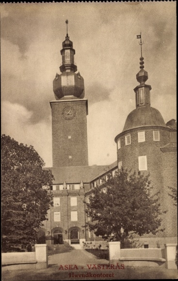 Ak Västerås Schweden, ASEA, Huvudkontoret