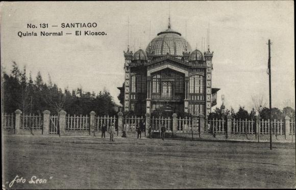 Ak Santiago de Chile, Quinta Normal, El Kiosco