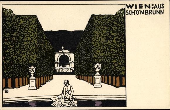 Künstler Ak Wiener Werkstätten Nr 137, Wien 13. Hietzing Österreich 0