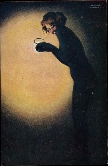 Künstler Ak Kirchner, Raphael, Maud, cambrioleuse