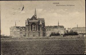 Ak Nysa Neisse Schlesien, Missionshaus, Heiligkreuz