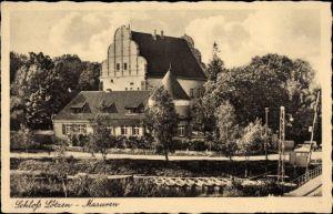 Ak Giżycko Lötzen Ostpreußen, Masuren, Bootsanlegestelle