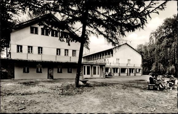 Ak Westhofen Schwerte im Ruhrgebiet, Jugendbildungsstätte, Haus Ebberg
