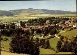 Ak Gersfeld in der Rhön Hessen, Ortspartie, Totalansicht