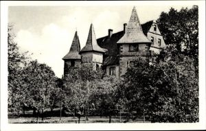 Ak Schmieheim Kippenheim im Ortenaukreis, Blick auf Schloss Schmieheim