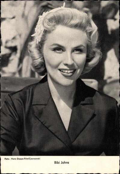 Ak Schauspielerin und Sängerin Bibi Johns, Portrait, blond