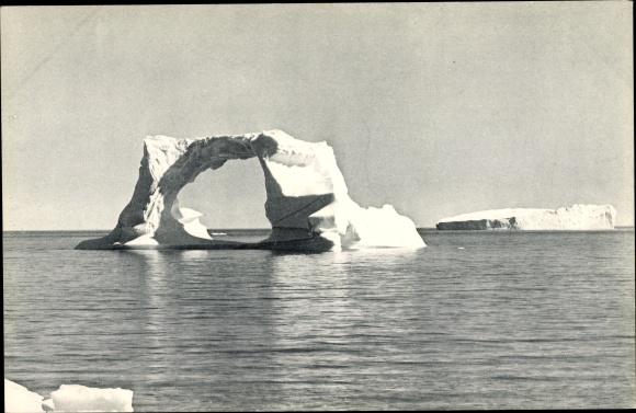 Ak Grönland, Schwimmendes Eisbergtor