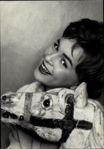 Ak Schauspielerin und Sängerin Conny Froboess, Portrait