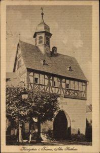 Ak Königstein im Taunus Hessen, Altes Rathaus