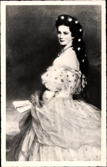 Künstler Ak Winterhalter, Franz Xaver, Kaiserin Elisabeth von Österreich Ungarn, Sisi 0