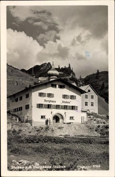 Ak Stuben Klösterle in Vorarlberg, Berghaus 0