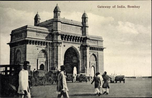 Ak Mumbai Bombay Indien, Gateway of India 0