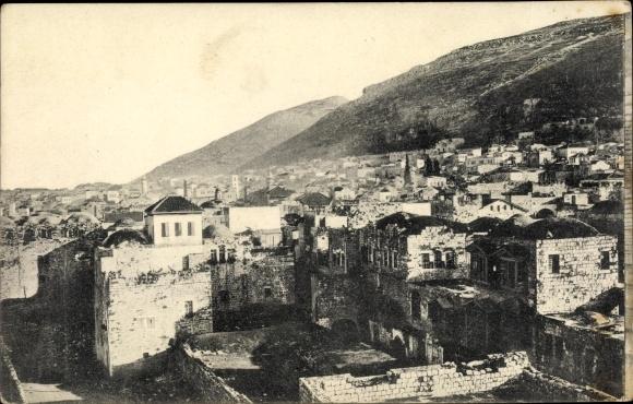 Ak Nablus Palästina, Shechem and Mt. Gerizim 0