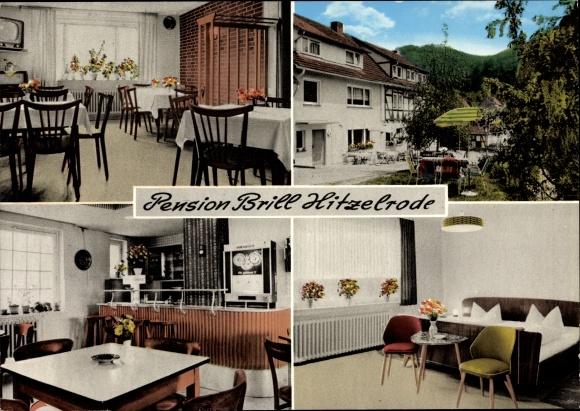Ak Hitzelrode Meinhard in Hessen, Pension Brill, Inh. M. Sodies