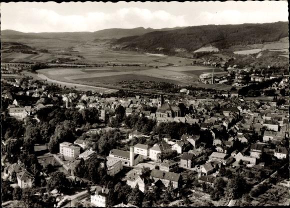 Ak Witzenhausen in Hessen, Panorama von Stadt und Umgebung 0