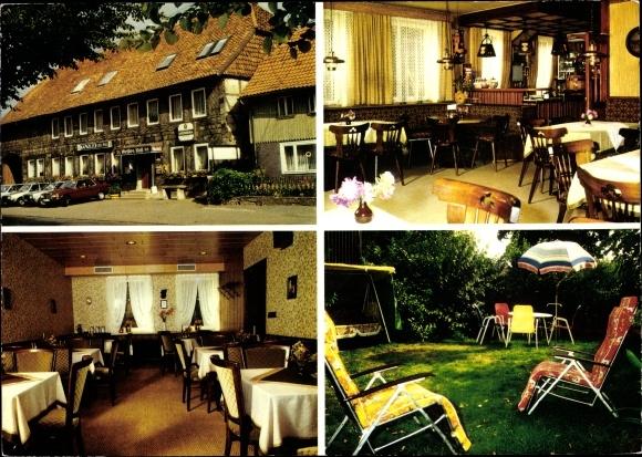 Ak Bornum Königslutter an der Elm, Hotel Gaststätte Zum weißen Ross, Inh. L. Finger 0