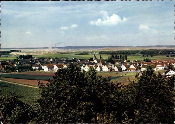 Ak Esbeck Elze in Niedersachsen, Aussicht vom Waldfrieden a. Elm, Inh. Gerhard Fischer 0