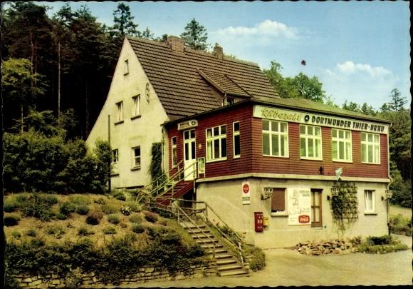 Ak Letmathe Iserlohn im Märkischen Kreis, Gaststätte Rübezahl Baude v. E. Adolf