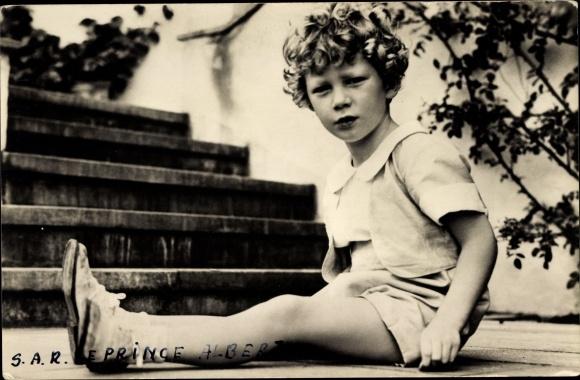 Ak König Albert II. von Belgien, Prinz Albert von Liege 0