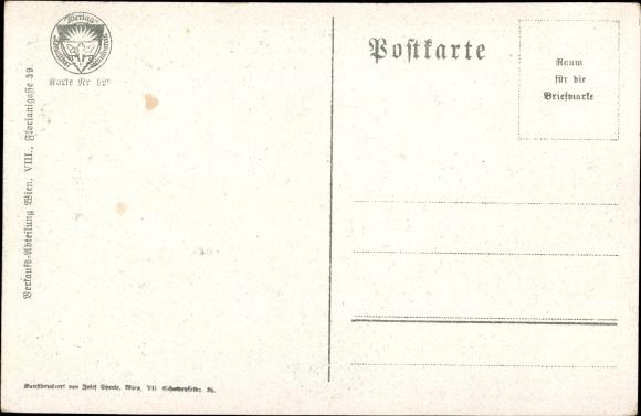 Künstler Ak Jahn, Gustav, Rax, Törlhaus, Schneeberg, Deutscher Schulverein 522 1