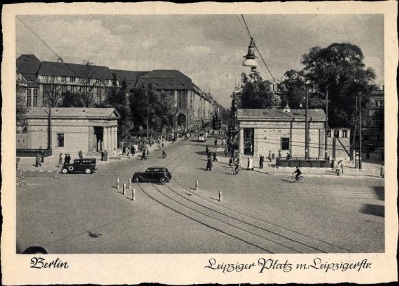 Ak Berlin Mitte, Leipziger Platz, Leipziger Straße 0