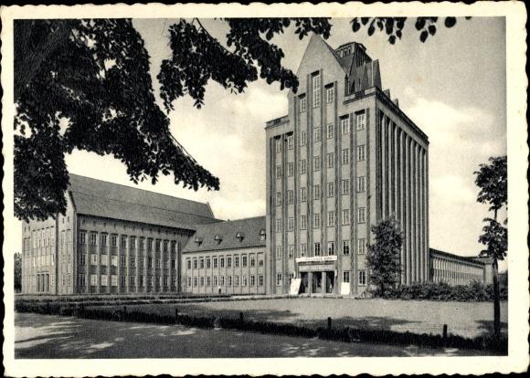 Ak Braunschweig in Niedersachsen, Kant Hochschule, Außenansicht 0
